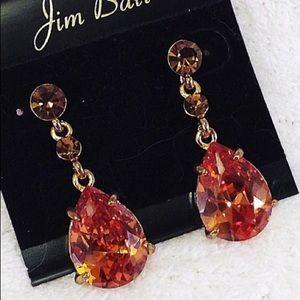 Jewelry - Sim Topaz Teardrop Earrings